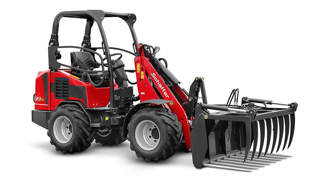 Service Battery Charging System >> Schäffer 23e: First yard loader with lithium-ion battery ...